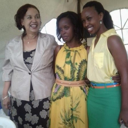Dr. Maggier Kigozi, Flavia Tumusiime and Barbi Kyagulanyi