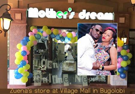 Zuena's store at Village Mall in Bugolobi