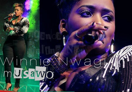 Winnie Nwagi performed for seconds at Kololo grounds
