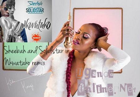 Sheebah and Solidstar in Nkwatako remix