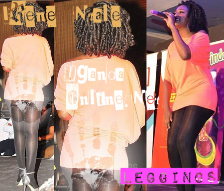 Irene Ntale performs at Serena Hotel