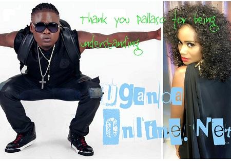 Pallaso and Juliana Kanyomozi make peace