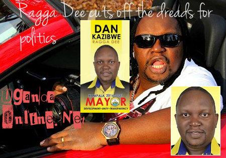 Ragga Dee cuts off his dreads for politics