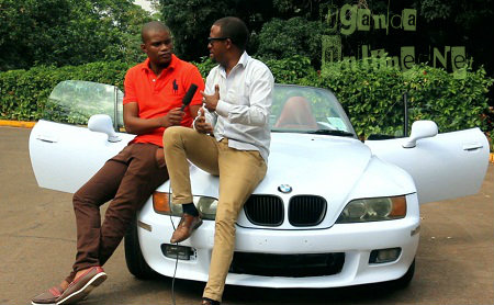 Denzel talks about his 2-seater BMW