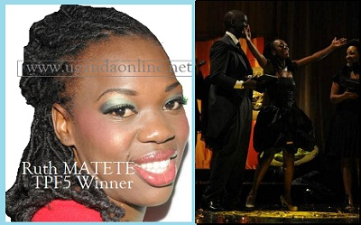 Ruth Matete - Winner of Tusker Project Fame 5