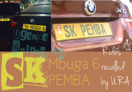 Mbuga and Pemba's BMW X6 recalled by URA