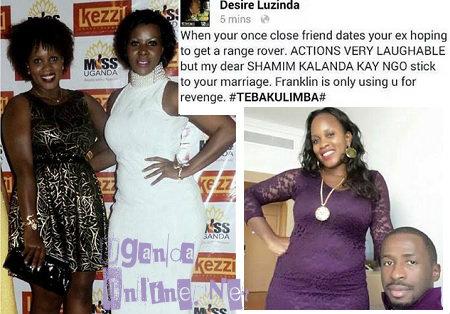 Desire Luzinda responds to Shamim dating Franklin