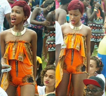 Sheila Gashumba did not disappoint