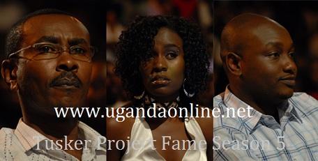 (L) Judge Ian Mbugua, Judge Juliana Kanyomozi and Judge Hermes from Tanzania