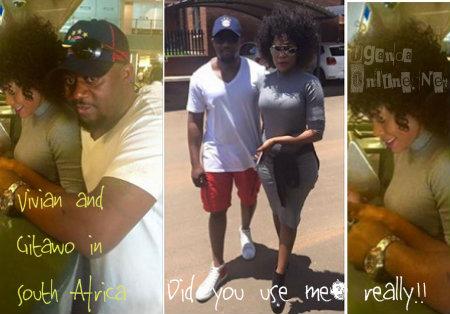 Mbuga's Vivian and Gitawo in South Africa