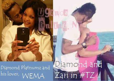 Wema, Diamond Platnumz, Zari