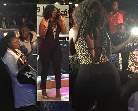 Nwagi doing her thing
