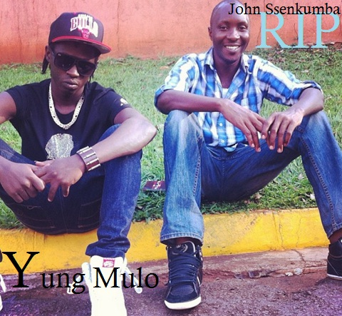 Yung Mulo and John Senkumba during the happy times