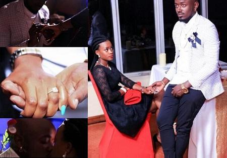 YKee Benda's girlfriend said Yes