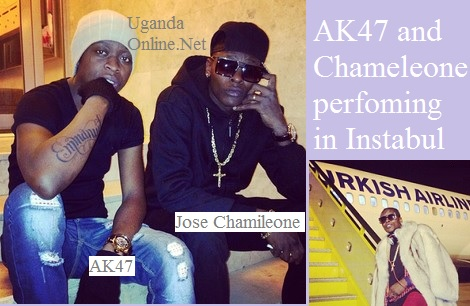 AK47 and Chameleone in Instabul