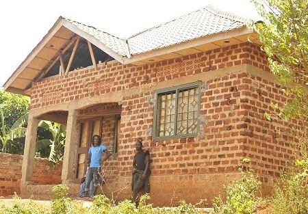 Contributions are towards completing this house