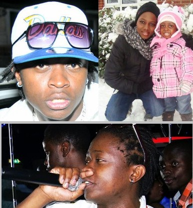 AK47 and Connie Mayanja with their daughter
