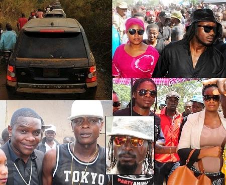 Bebe Cool, Jack Pemba, Moze Radio for AK47 burial