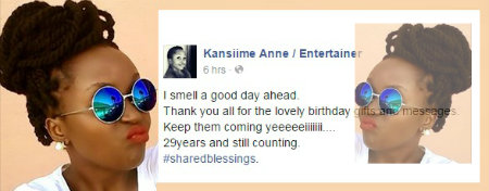 Anne Kansiime turns 29