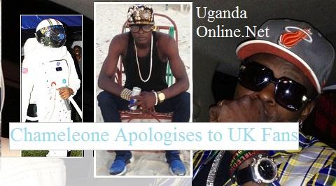 Chameleone apologises to UK fans