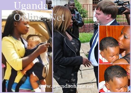 Janet Apuyo's baby Vs Bad Black's baby
