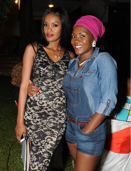 The Birthday gal and Fashionista Sylvia Owori