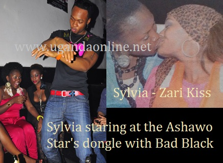 Sylvia Owori looki at Mr Flavour and S-R Kiss