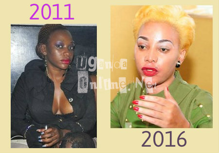 Bad Black's looks 2011 vs. 2016