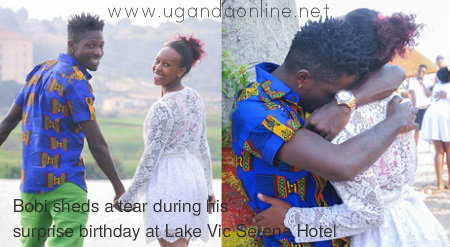 Bobi and Barbie at Lake Victoria Serena Hotel