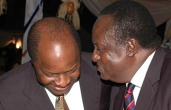 Kabaka Mutebi shares a moment with Prince Barigye of Ankole(RIP)