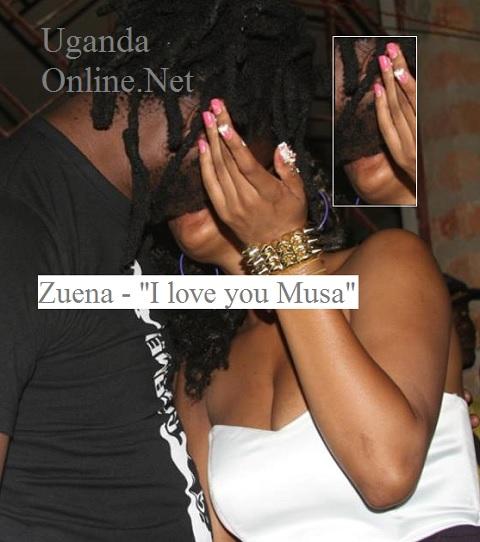 Zuena and Bebe having a birthday kiss