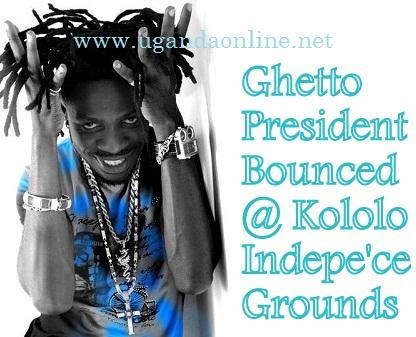 Bobi Wine Bounced at Kololo