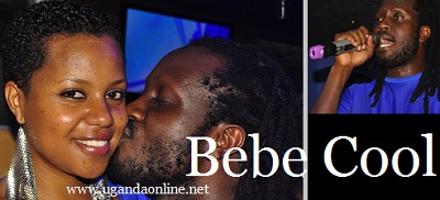 Bebe Cool and his wife Zuena