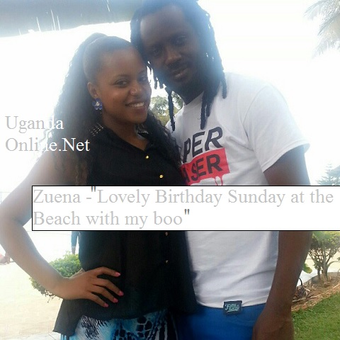 Zuena and Bebe Cool at Spenah Beach on Sept 01, 2013