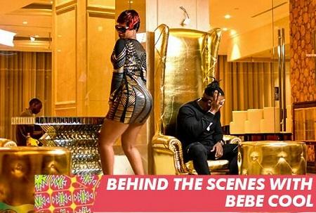 Behind the scenes of Bebe Cool's Nananana video