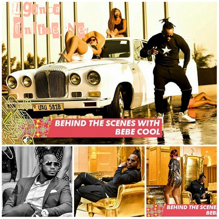 Bebe Cool's latest video, Nananana