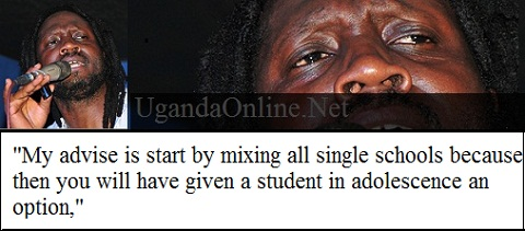 Bebe Cool's advise on how to address the gay and lesbian acts