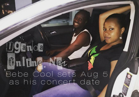 Bebe Cool sets Aug 5 as his concert date
