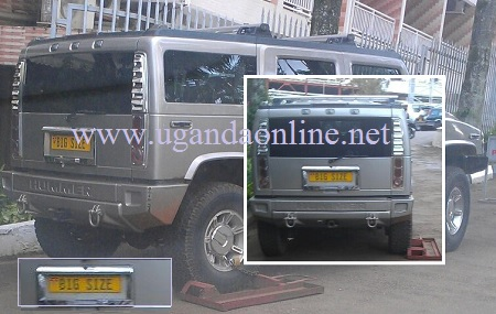 Bebe's Hummer Impounded at Africana