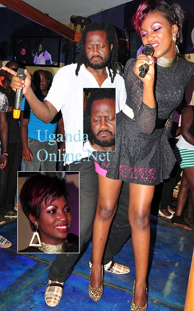 Bebe Cool and Irene Ntale