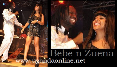 Bebe Cool and Zuena during the Minzani Launch last year