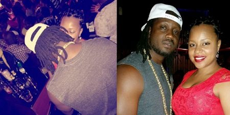 Bebe Cool and Zuena at Liquid Silk in Bugolobi