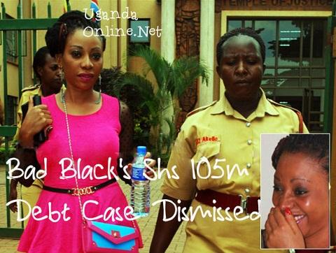 Bad Black all smiles after court dismissed a debt case