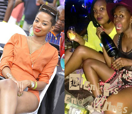 Ex Be My date host, Anita Fabiola also attended