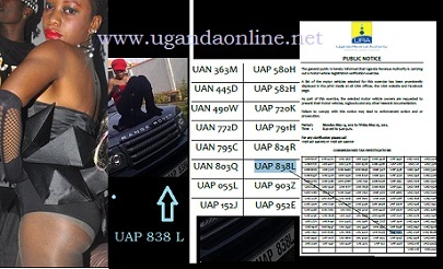 Bad Black's Range Rover required by URA over registration issues