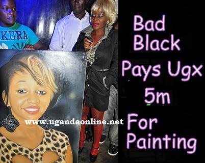 Bad Black pays Shs 5m  for painting