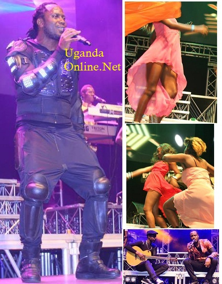 Bebe Cool during the Best of Bebe Cool show