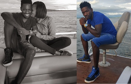 Bobi Wine's much cherished color is blue these days