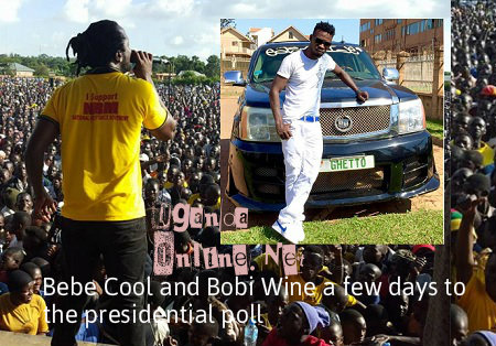 Bebe Cool tries to down play Bobi Wine's views