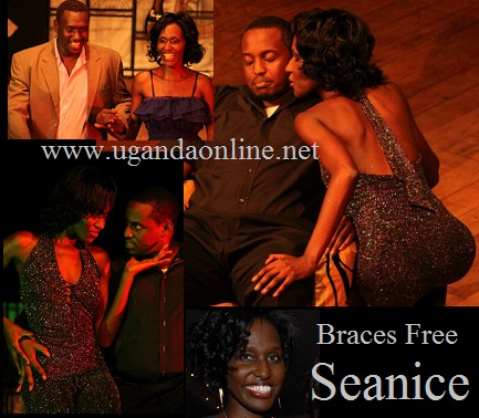 Seanice while on stage at National Theatre
